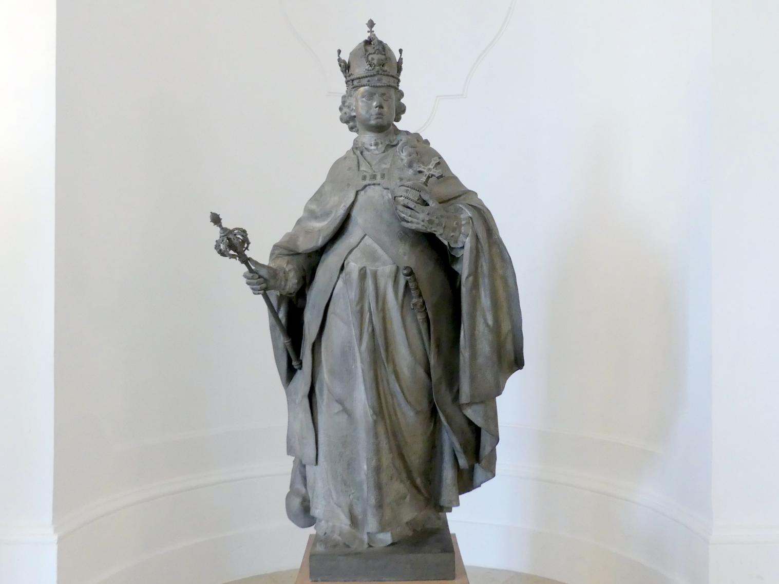 Franz Xaver Messerschmidt: Kaiser Franz I. Stephan, 1765 - 1766