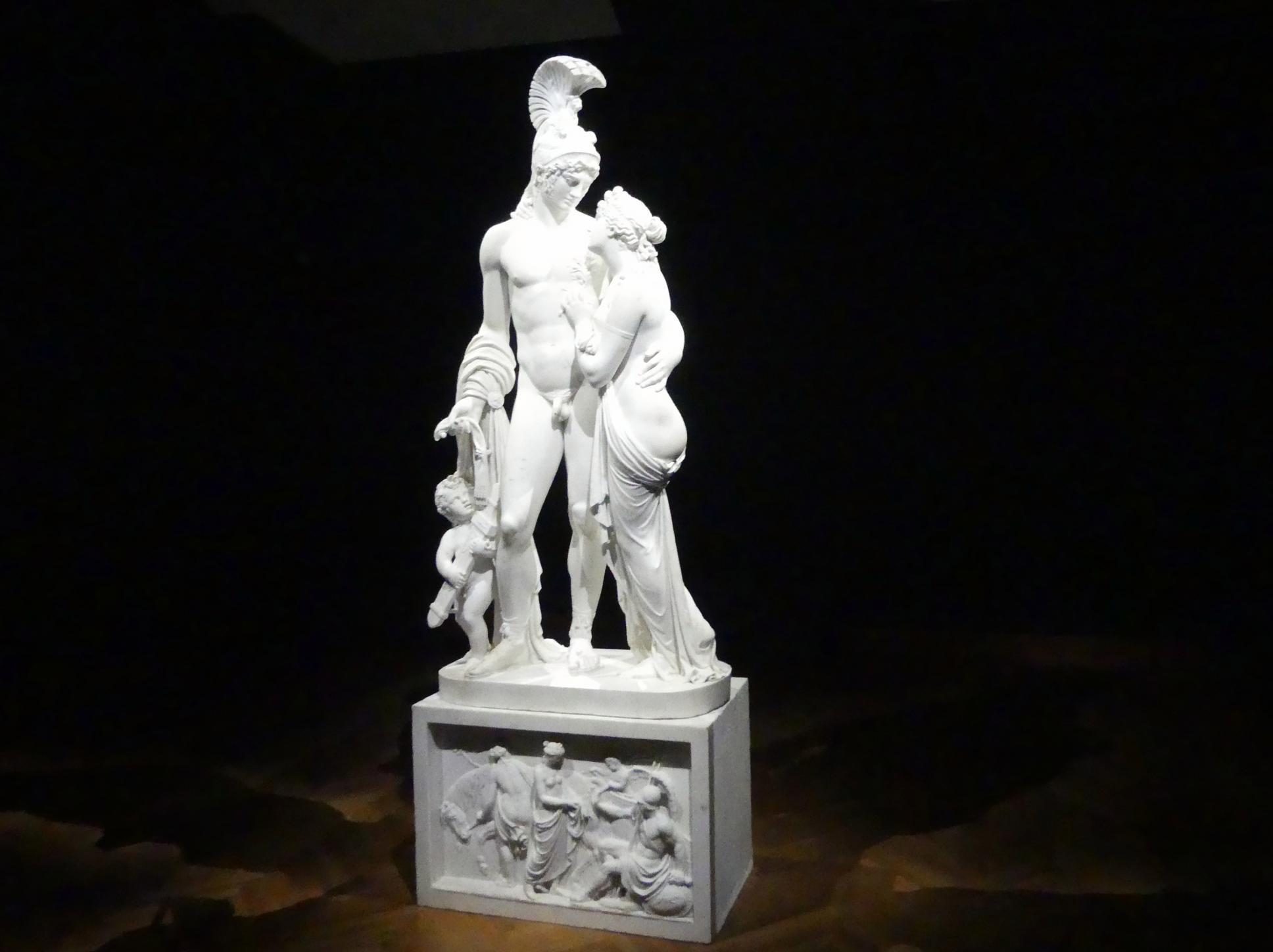 Leopold Kiesling: Mars und Venus mit Amor, 1809