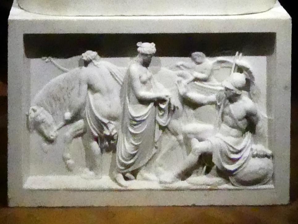 Johann Nepomuk Schaller: Venus zeigt Mars ihre von Diomedes verwundete Hand, 1810