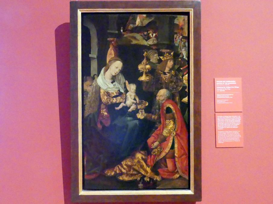 Meister der Habsburger: Anbetung der Heiligen Drei Könige, um 1505 - 1508