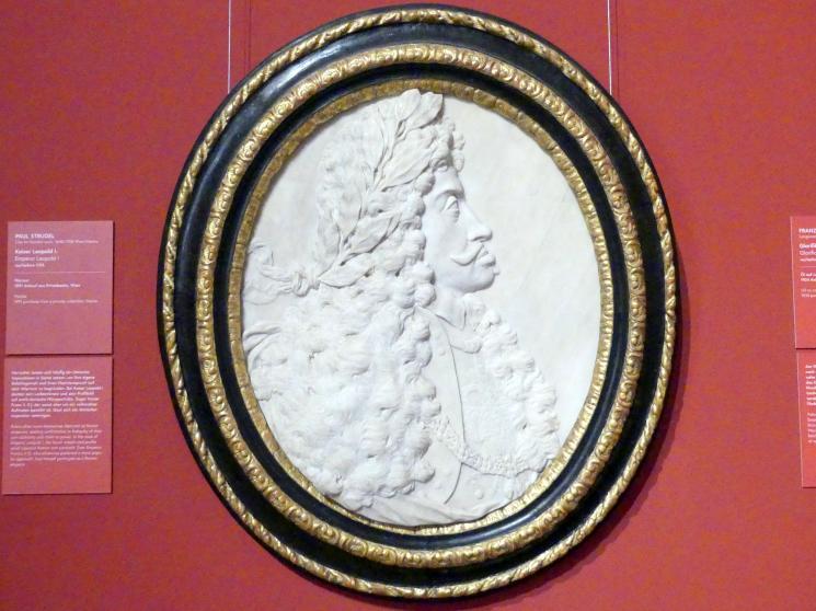 Paul Strudel: Kaiser Leopold I., Vor 1705