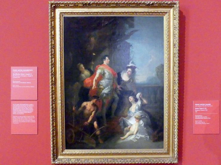 Franz Anton Maulbertsch: Glorifikation Kaiser Josephs II., vor 1777