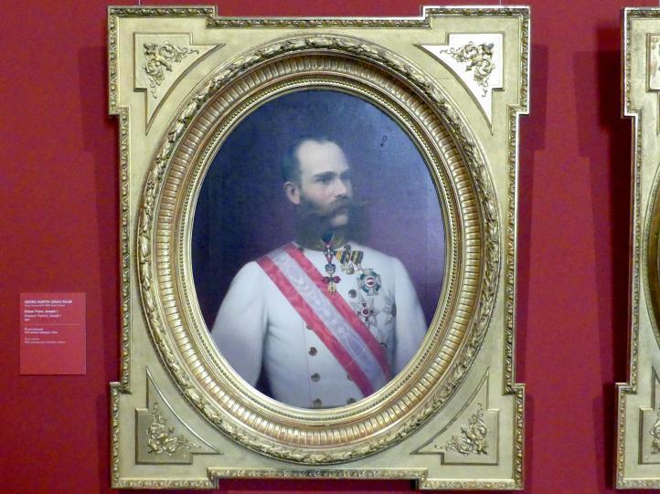 Georg Martin Ignaz Raab: Kaiser Franz Joseph I., 1874