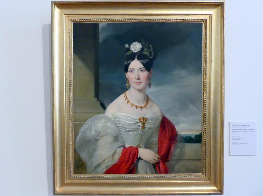 Friedrich von Amerling: Marie Freiin Vesque von Püttlingen, 1832