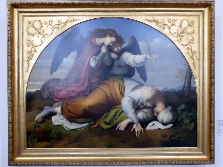 Johann Scheffer von Leonhardshoff: Die tote heilige Caecilia (Römische Fassung), 1820 - 1821