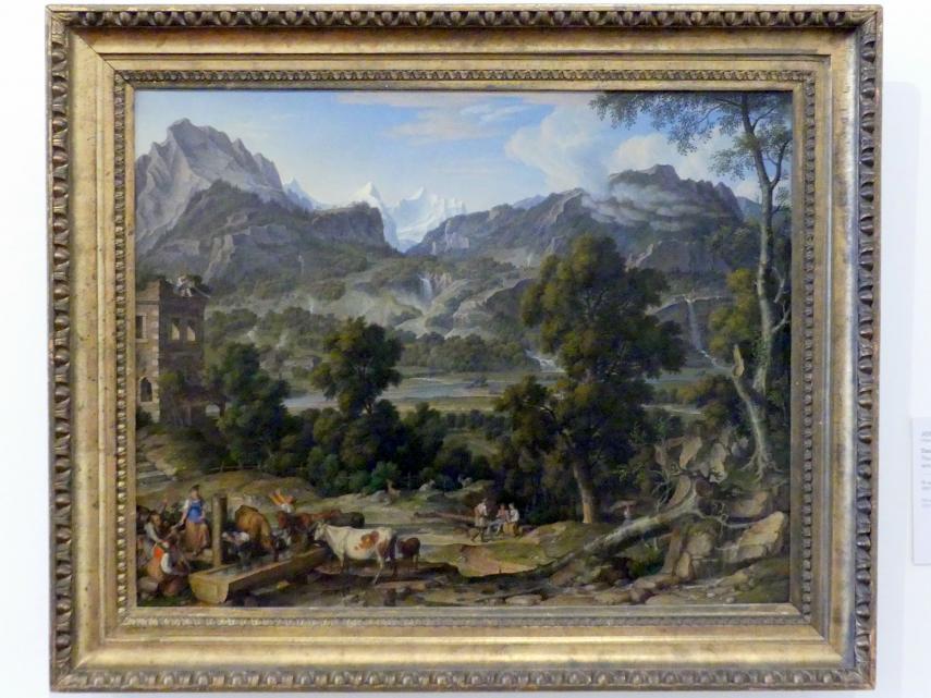 Joseph Anton Koch: Das Berner Oberland, 1815