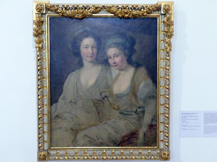 Johann Baptist Lampi der Ältere: Die Gräfinnen Caroline und Zoë  Thomatis, Undatiert