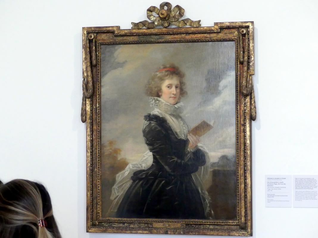 Heinrich Friedrich Füger: Die Schauspielerin Josefa Hortensia Füger, die Frau des Künstlers, um 1797