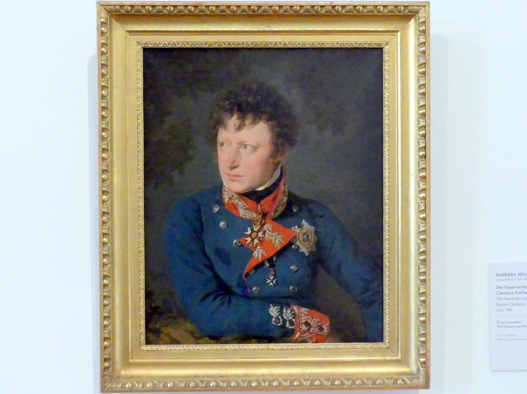Barbara Krafft: Der bayerische Generalleutnant Clemens Freiherr von Raglovich, um 1813