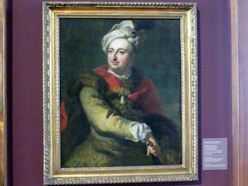 Martin van Meytens der Jüngere: Bildnis eines Mannes in ungarischer Tracht (Imre Graf Tökölyi?), Um 1740 - 1750