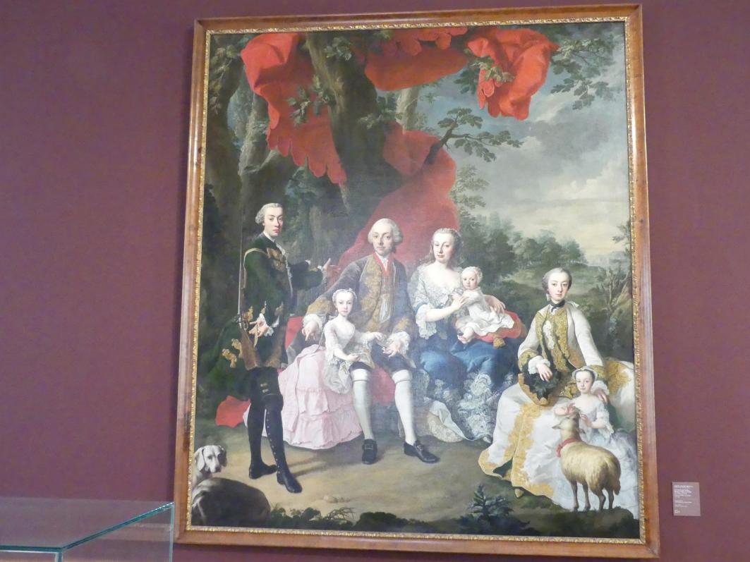 Martin van Meytens der Jüngere: Die Familie des Grafen Nikolaus Pálffy von Erdöd, Um 1760