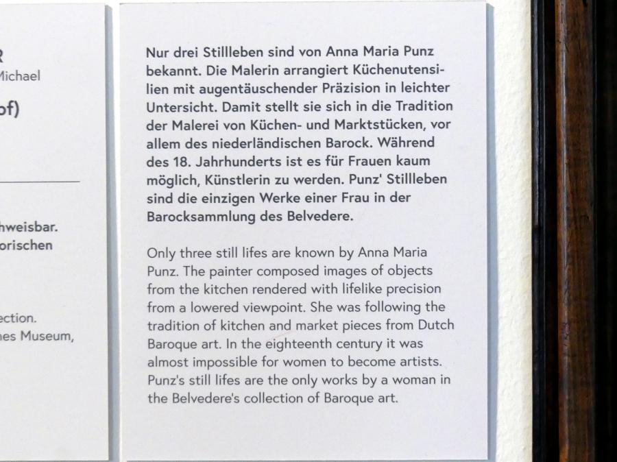Anna Maria Punz: Stillleben mit Küchengeschirr, Zwiebel und Kohlrabi, 1754, Bild 3/3
