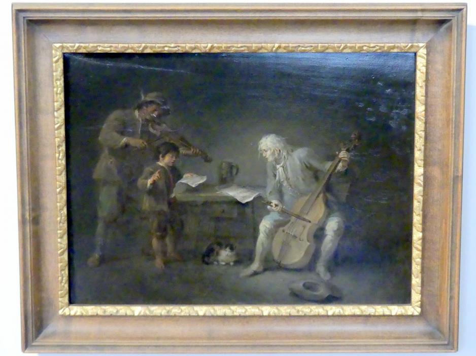 Martin Johann Schmidt (Kremser Schmidt): Musikanten, 1781