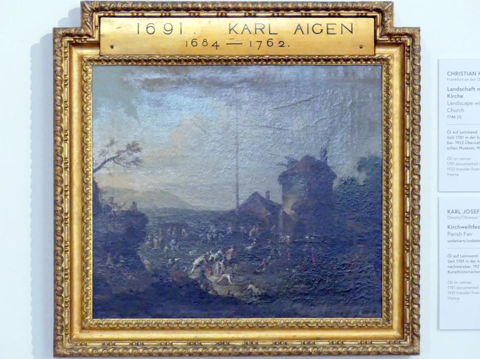 Karl Josef Aigen: Kirchweihfest, Undatiert
