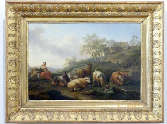 Joseph Roos: Landschaft mit weidendem Vieh, 1766