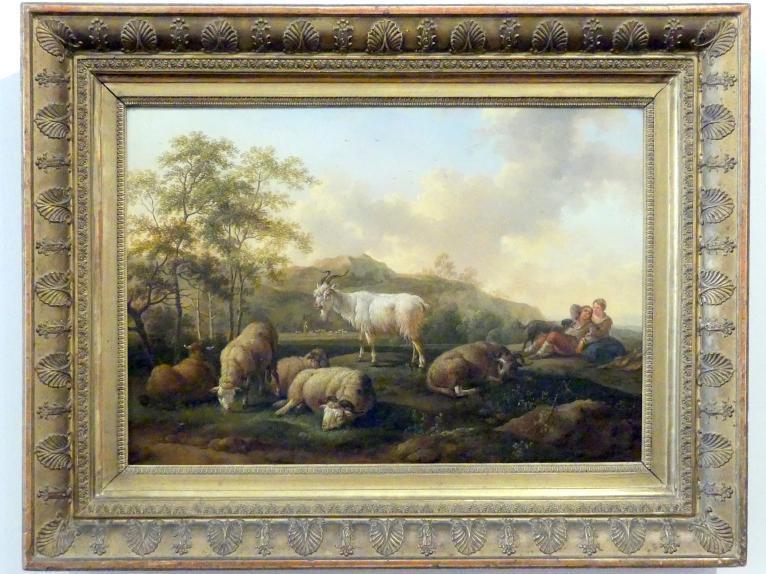 Joseph Roos: Landschaft mit weidendem Vieh, 1765