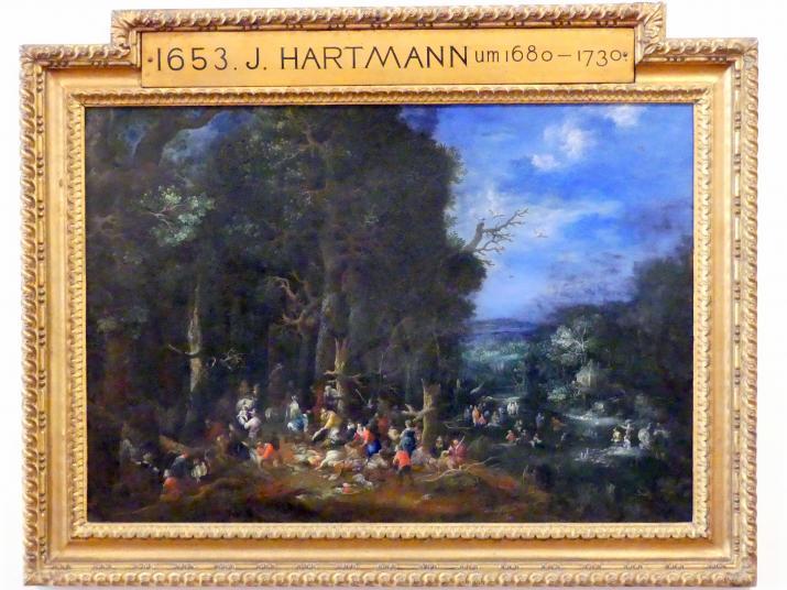 Johann Jakob Hartmann: Die Luft, Undatiert
