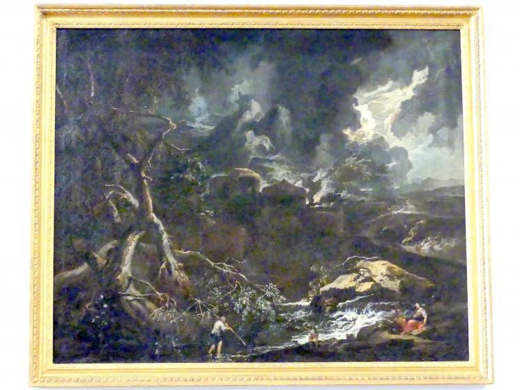 Anton Faistenberger: Gewitterlandschaft, nach 1700