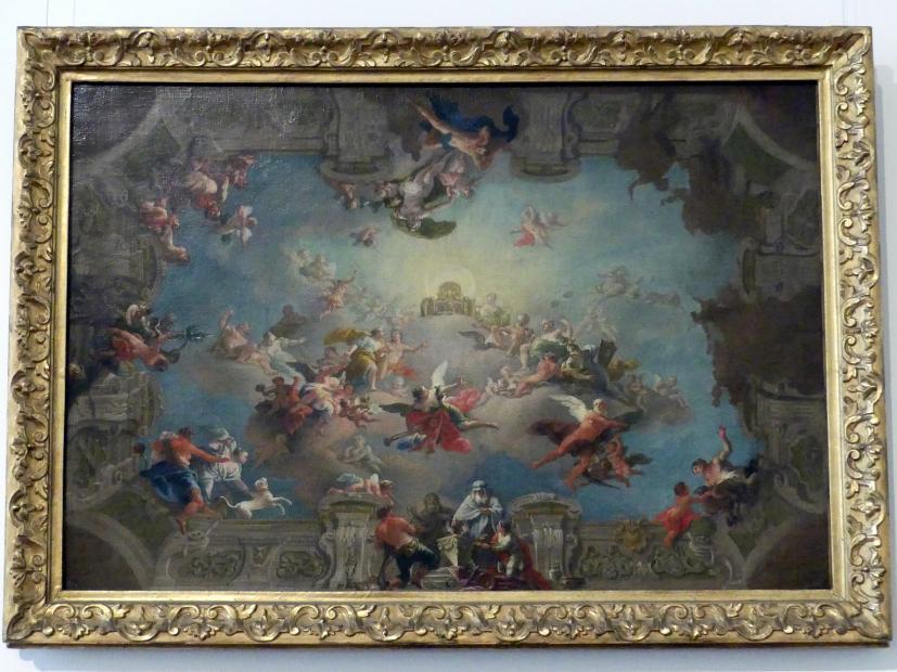 Daniel Gran: Aufnahme Dianas in den Olymp, 1732