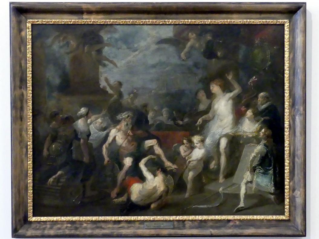 Franz Anton Maulbertsch: Allegorie auf eine Preisverteilung an der Wiener Akademie unter Wenzel Anton Fürst von Kaunitz-Rietberg, um 1790