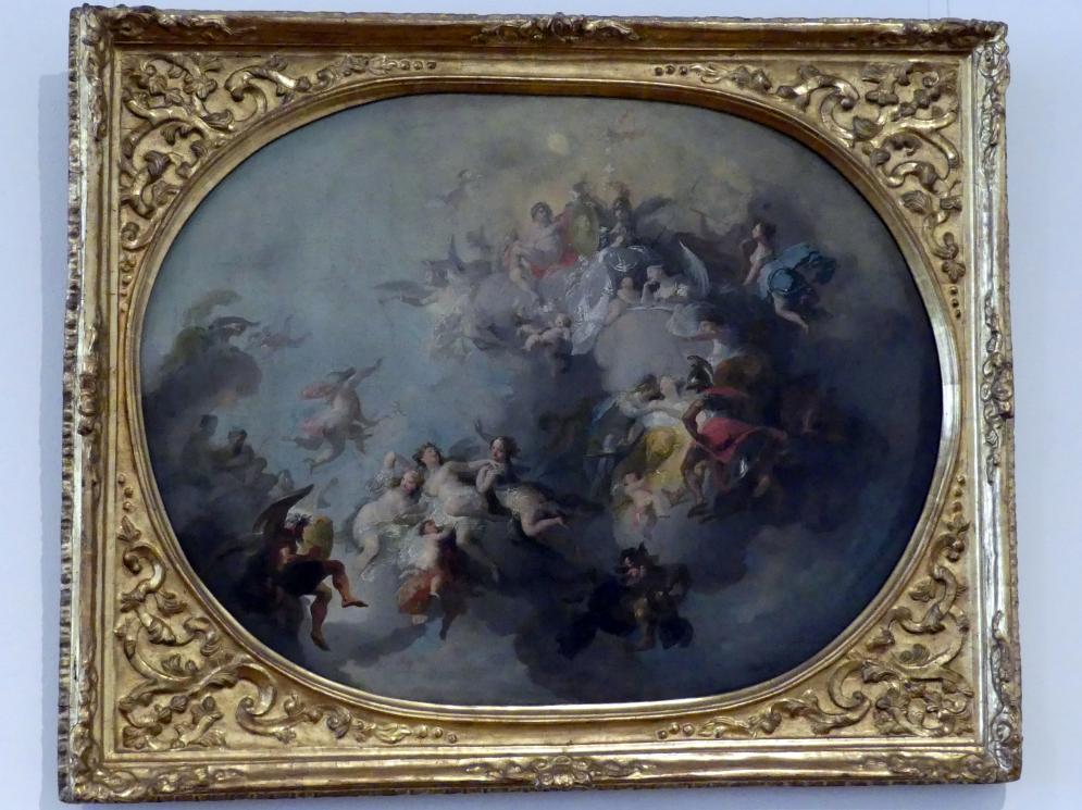 Franz Anton Maulbertsch: Allegorie auf eine fürstliche Vermählung, um 1785 - 1786