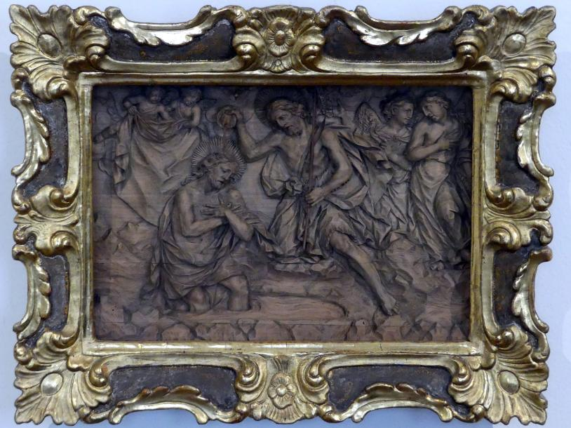 Johann Peter Schwanthaler der Ältere: Taufe Christi, um 1750