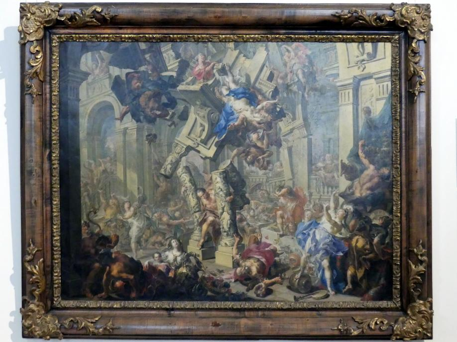 Johann Georg Platzer: Samsons Rache, Um 1730 - 1740
