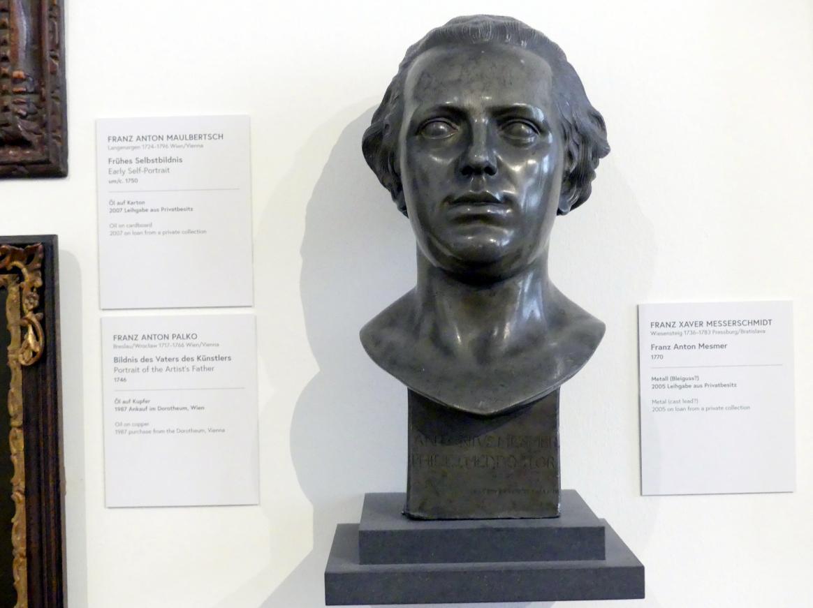 Franz Xaver Messerschmidt: Franz Anton Mesmer, 1770