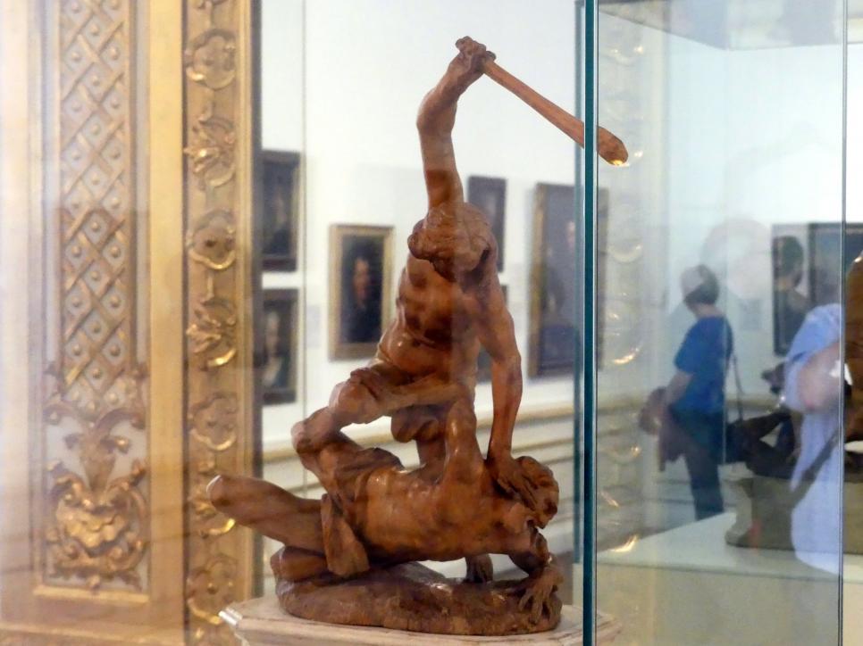 Veit Königer: Herkules tötet Cacus, 1754