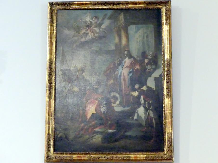 Franz Anton Maulbertsch: Christus und der Hauptmann von Kapernaum, um 1750 - 1755