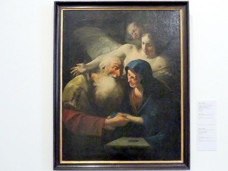 Paul Troger: Joachim und Anna, Um 1730