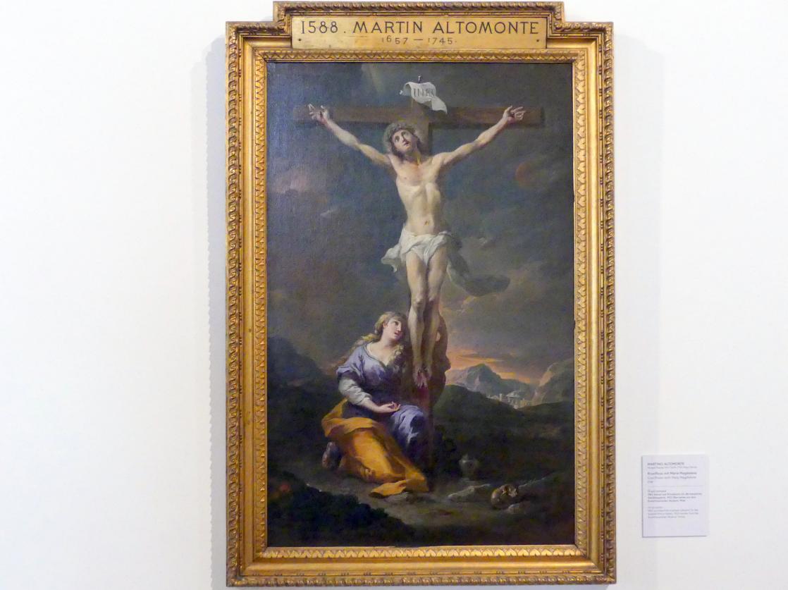 Martino Altomonte: Kruzifixus mit Maria Magdalena, 1728