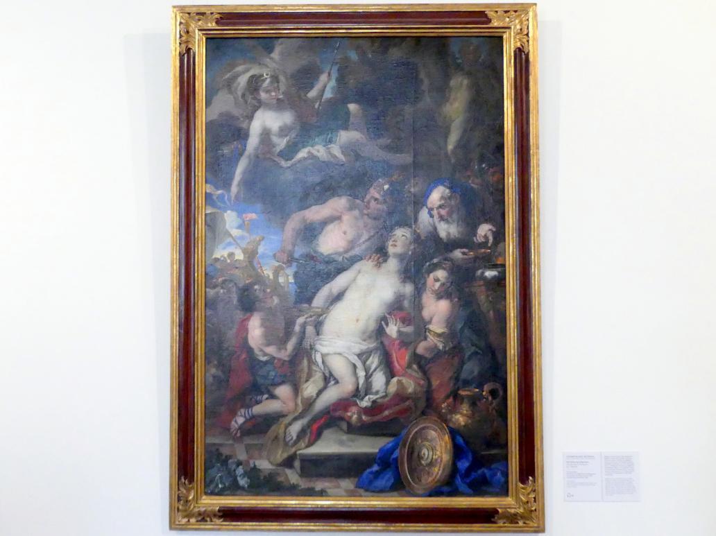 Johann Michael Rottmayr: Die Opferung Iphigeniens, um 1690 - 1691