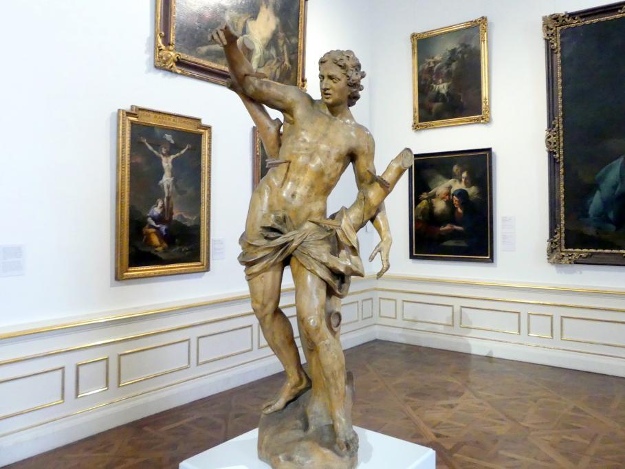 Giovanni Giuliani: Der heilige Sebastian, um 1710 - 1712