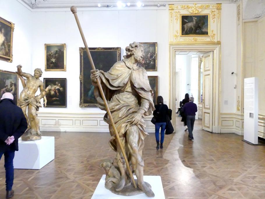 Giovanni Giuliani: Der heilige Rochus, um 1710 - 1712