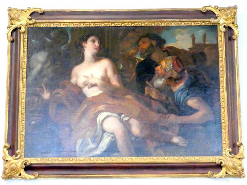 Johann Michael Rottmayr: Susanna und die beiden Alten, um 1692