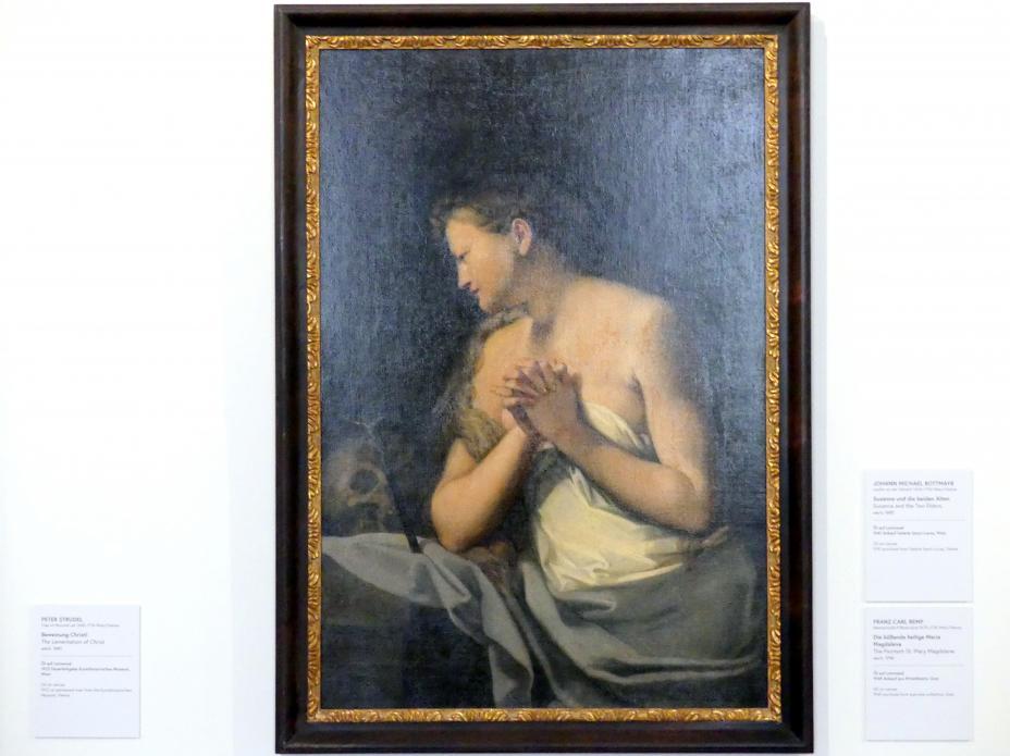Franz Carl Remp: Die büßende heilige Maria Magdalena, um 1710