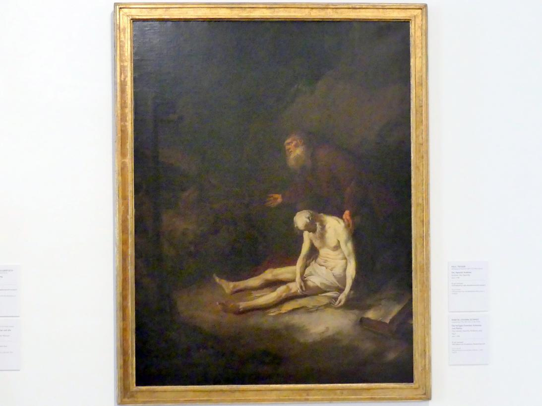 Martin Johann Schmidt (Kremser Schmidt): Die heiligen Eremiten Antonius und Paulus, um 1765