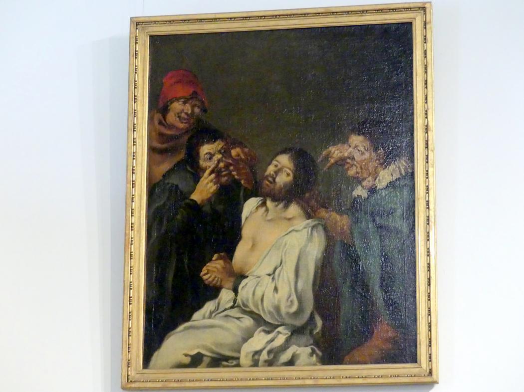 Karel Škréta: Verspottung Christi, 1630