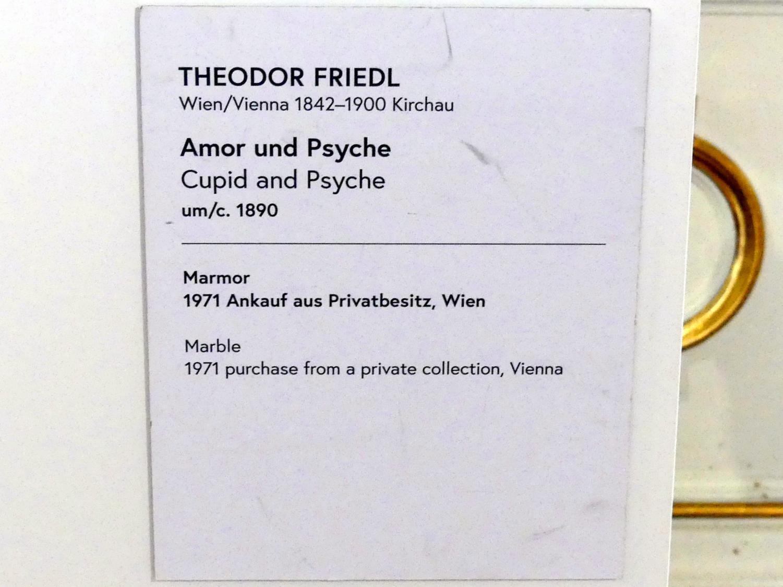 Theodor Friedl: Amor und Psyche, um 1890, Bild 4/4