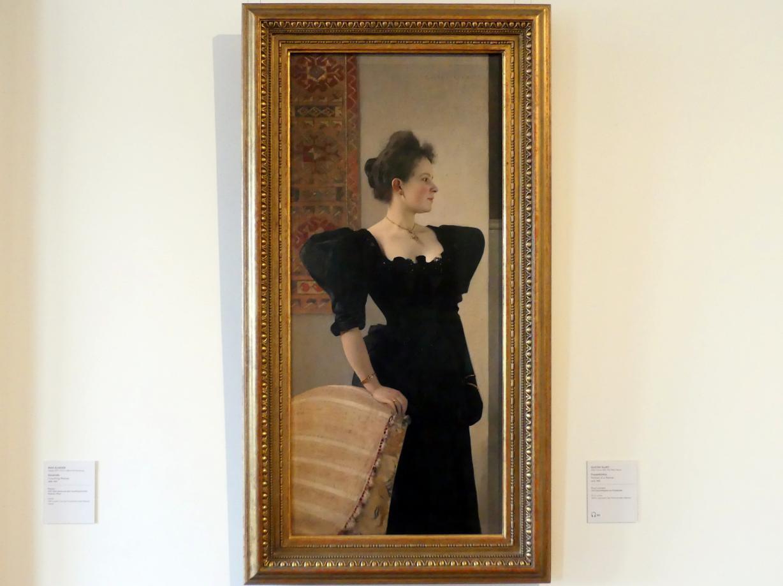 Gustav Klimt: Frauenbildnis, um 1893