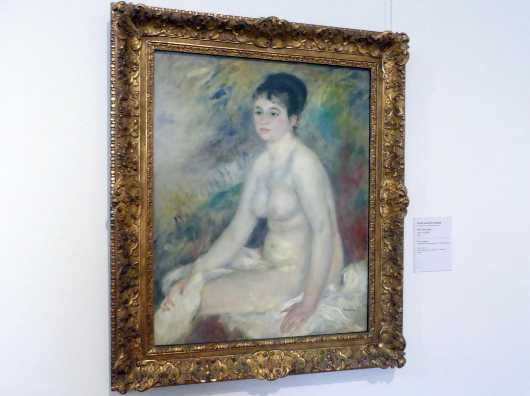 Auguste Renoir (Pierre-Auguste Renoir): Nach dem Bade, 1876