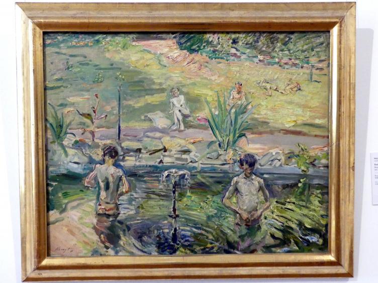 Max Slevogt: Badende Knaben, 1911