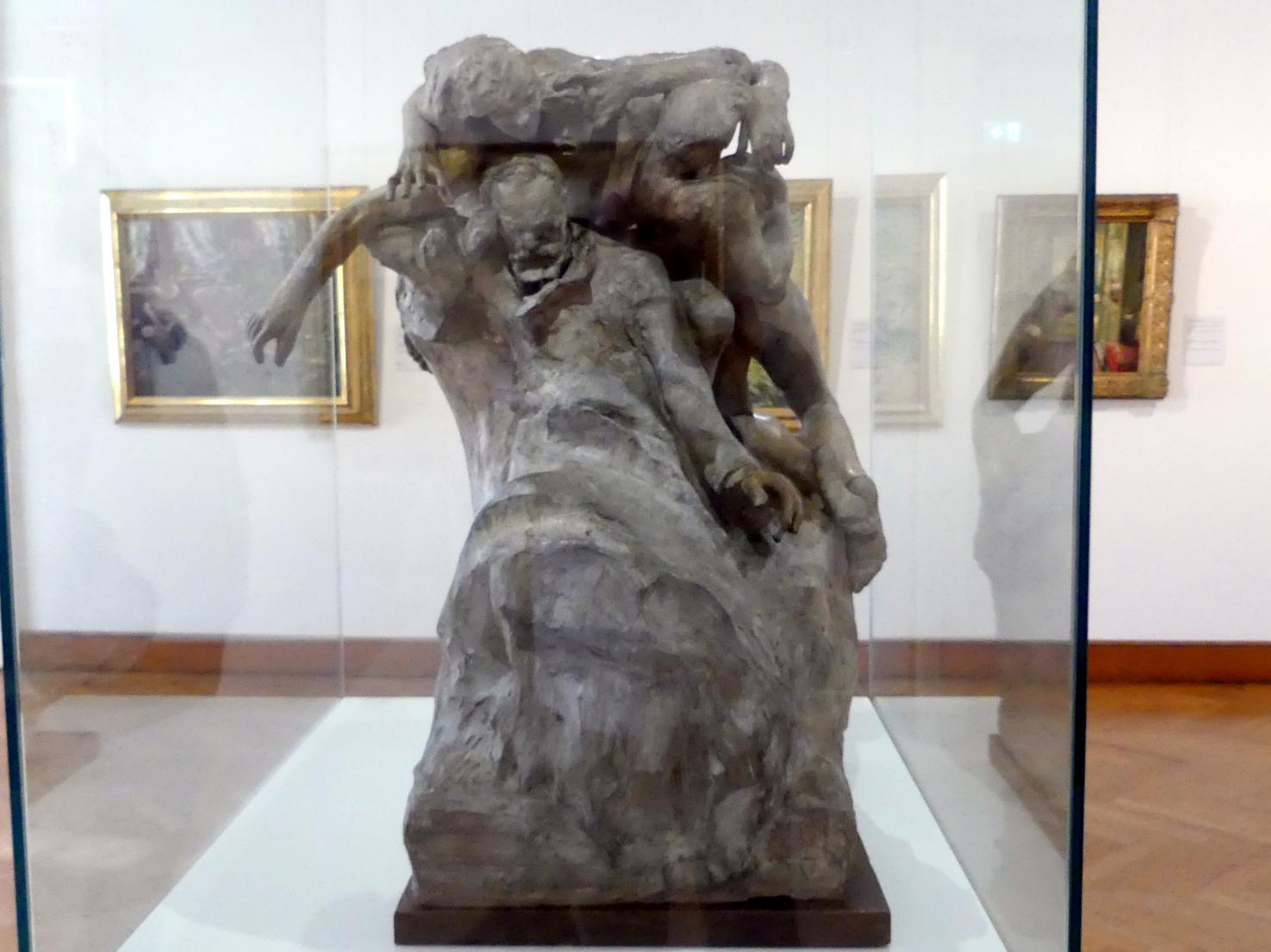 Auguste Rodin: Entwurf für ein Denkmal für Victor Hugo, 1890