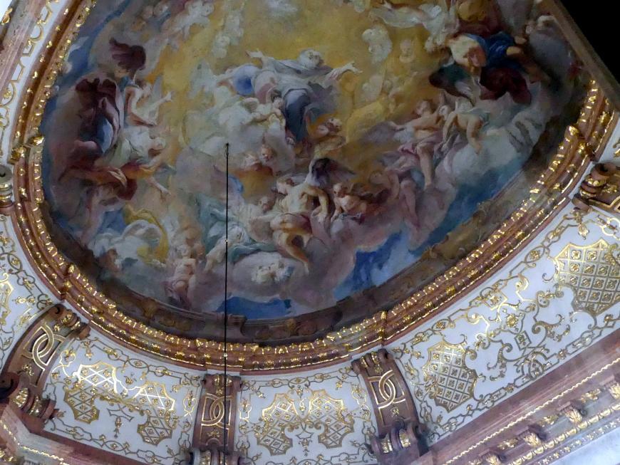 Carlo Innocenzo Carlone: Kuppelfresko, Undatiert