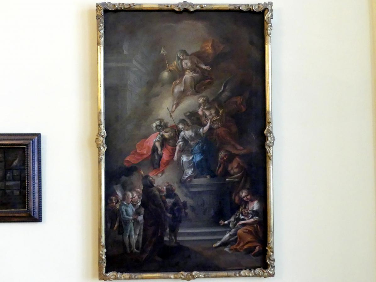 Michael Tenzel: Allegorie auf die Kunstpflege in Augsburg, 1794