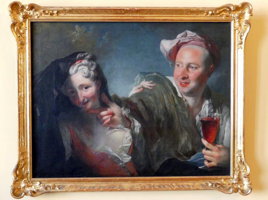 Pierre Gaudreau: Liebespaar, 1727