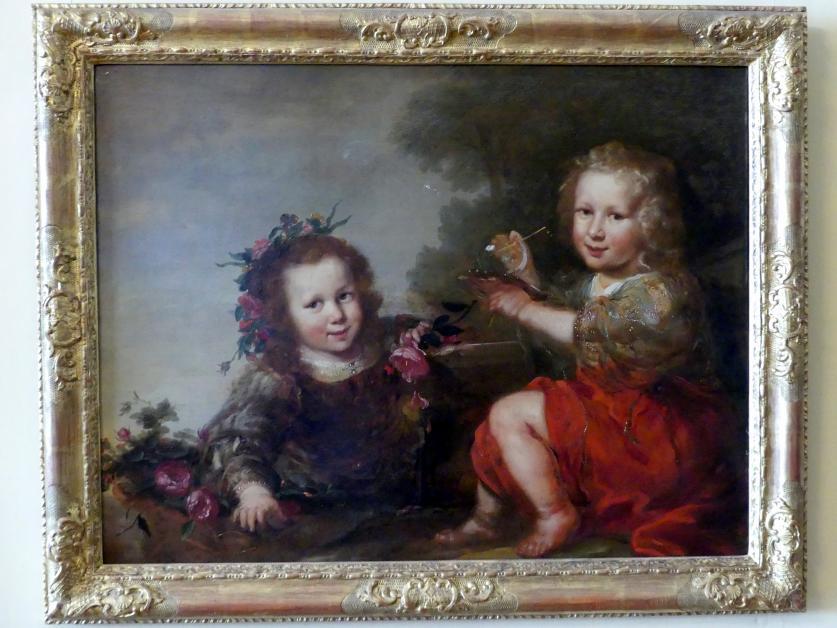 Jürgen Ovens: Kinder beim Spiel, Um 1657 - 1663
