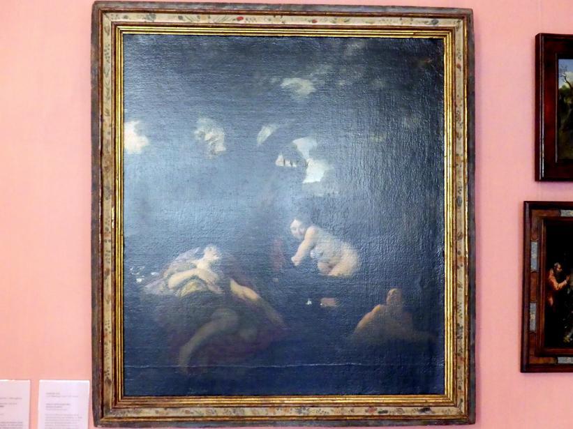 Johann Liss: Salmacis und Hermaphroditus (Badende Nymphen), um 1625