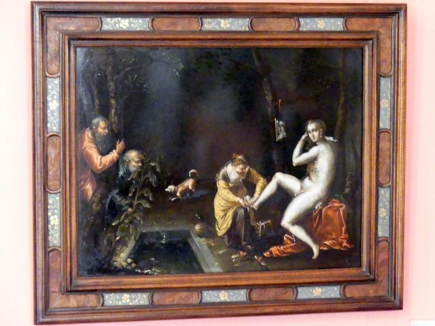 Susanna im Bade, Um 1600